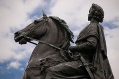 Monument to Peter the Great Bronze Horseman Stock Photography