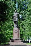 Monument to Peter the Great in Izmailovo manor in Moscow Royalty Free Stock Photos