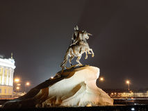The Monument To Peter The Great. Royalty Free Stock Images