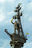 Monument to Peter the Great Royalty Free Stock Photography