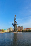 Monument to Peter the Great - Moscow Russia Royalty Free Stock Photo