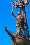 Monument to Peter the Great - Moscow Russia Stock Image