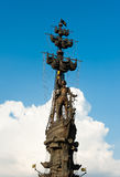 Monument to Peter the Great, Moscow, Russia Stock Photo