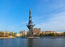 Monument to Peter the Great - Moscow Russia Stock Photography