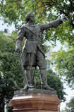Monument to Peter the Great in Voronezh Stock Photo