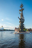 Monument to Peter I in Moscow Royalty Free Stock Image