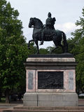 Monument to Peter the Mikhailovsky Castle. Royalty Free Stock Images