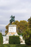 Monument to Philip IV, Madrid Royalty Free Stock Photo