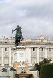 Monument to Philip IV, Madrid Royalty Free Stock Photos