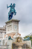 Monument to Philip IV in Madrid, Spain. Royalty Free Stock Photography