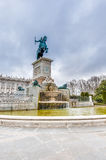 Monument to Philip IV in Madrid, Spain. Royalty Free Stock Photos