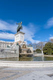 Monument to Philip IV in Madrid, Spain. Stock Image