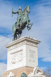 Monument to Philip IV in Madrid, Spain. Stock Photography