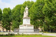 Monument to Pietro Leopoldo I, in Piazza Martiri della Liberta of Pisa, Italy.  stock photos