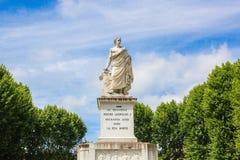Monument to Pietro Leopoldo I, in Piazza Martiri della Liberta of Pisa, Italy.  stock images