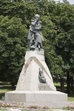 Monument to the poet Lermontov in Pyatigorsk, Russia Royalty Free Stock Photography