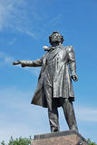 Monument to poet Pushkin on Arts Square, St. Petersburg Royalty Free Stock Photos