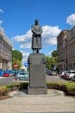 Monument to Polish Marshal Jozef Pilsudski in Warsaw stock photo