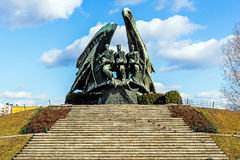 Monument to Polish Soldier Royalty Free Stock Photography