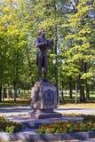 Monument to politican and poet Gavrila Derzhavin Stock Images