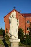 Monument to Pope John Paul II in Astana Royalty Free Stock Image