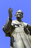 Monument to Pope John Paul II Royalty Free Stock Photos