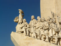 Monument to the Portuguese Discoveries. In Belém, Lisbon, Portugal royalty free stock photography
