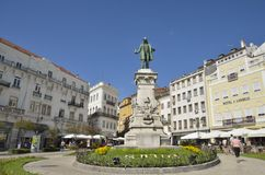 Monument to Portuguese politician Royalty Free Stock Photo