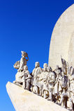 Monument to the Portuguese Sea Discoveries, Lisbon Stock Photo