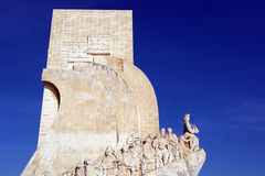 Monument to the portuguese sea discoveries, Lisbon, Portugal Royalty Free Stock Photos