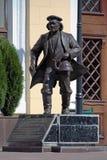 Monument to priest Fedor in Kharkov, Ukraine Stock Image