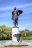 Monument to prince Alexander Yaroslavich Nevsky Stock Images