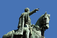 Monument to Prince Mihailo Obrenovic Stock Photography