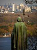 Monument to Prince Vladimir Stock Photos