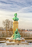 Monument to the princess Marie in Copenhagen, Denmark Royalty Free Stock Photography