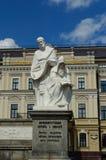 Monument to Princess Olga, Apostle Andrew, Cyril and Methodius Royalty Free Stock Photo