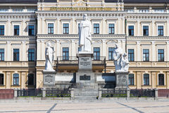Monument to Princess Olga in Kiev Stock Image