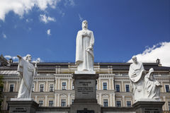 Monument to Princess Olga in Kiev Royalty Free Stock Photography