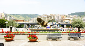 Monument to the propeller Stock Photography