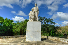 Monument to the Puerto Rican Countryman. Monumento al Jibaro Puertorriqueno (Monument to the Puerto Rican Countryman) is a monument built by the Government of stock image