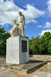 Monument to the Puerto Rican Countryman. Monumento al Jibaro Puertorriqueno (Monument to the Puerto Rican Countryman) is a monument built by the Government of royalty free stock photo