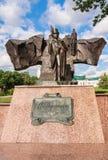 The monument to Pushkin Vitebsk Stock Image