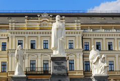 Monument to Queen Olga and the Saints Royalty Free Stock Images