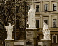 Monument to Queen Olga and the Saints Stock Photography