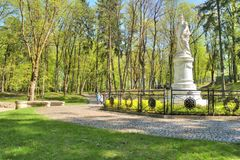 Monument to the Queen of Prussia Louise, wife of Frederick Willi Royalty Free Stock Image