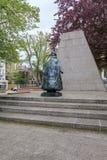 Monument to Queen Wilhelmina in Hague Stock Photo