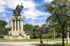 Monument to Ramos de Azevedo Royalty Free Stock Photo
