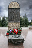 Monument to the residents of Penza region, fallen in Afghanistan Royalty Free Stock Photo