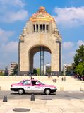 The Monument to the Revolution in Mexico City royalty free stock photo