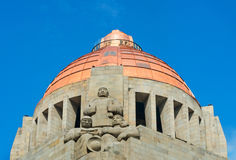 The Monument to the Revolution in Mexico City, Mexico. Royalty Free Stock Photos